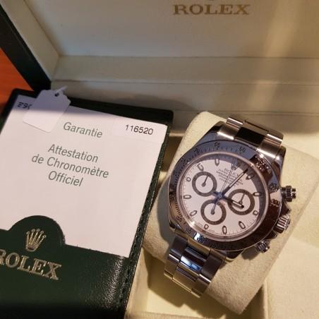 ROLEX DAYTONA 116520 BLANCHE B/P 2005